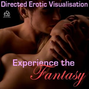 Logo Image for Directed Erotic Visualisation Image of couple heads in intimate embrace for review on squirters