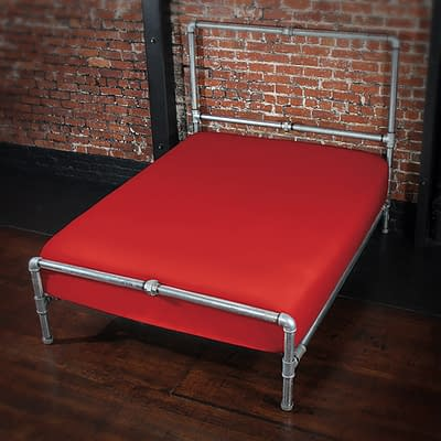 Fluidproof Fitted Sheet – Red