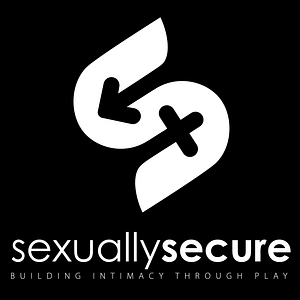 Sexually Secure logo in White on Black Background